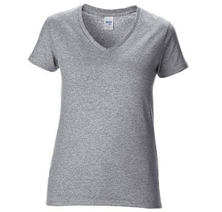 Premium Cotton® Ladies` V-Neck