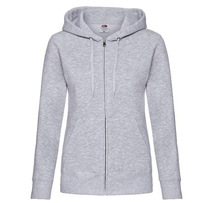 Lady-Fit Premium Hooded Sweat Jacket