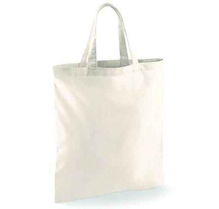 Bavlněná taška s krátkými uchy