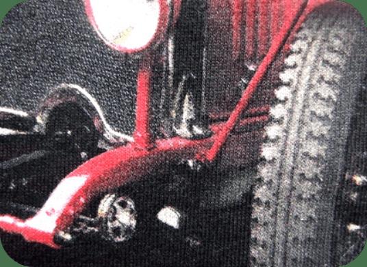 Jemná a priedušná potlač textilu sieťotlačou