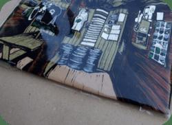 Balenie potlačených tričiek