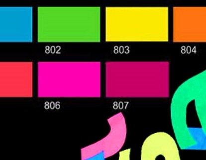 Neónové farby (Fluorescent)