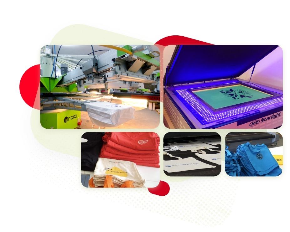 Naša tlačiareň na textil
